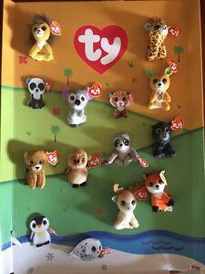 McDonald's TY TEENIE BEANIE Boo's HAPPY MEAL Toys  Set Of 10 No Display
