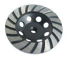 Diamond Grinding Disc Cup Turbo. 100mm x M14. Fits 115mm Grinders. Smooth.