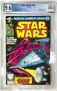 STAR WARS Comic Issue 46 - 1981 Marvel Comics - PGX 9.6 Graded Lando/Chewbacca