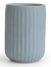 Wet By Home Design LINEA TUMBLER 80x110x80mm Ceramic, Industrial Design BLUE