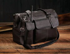LIGHTSPEED AVIATION ADVENTURE FLIGHT BAG in LEATHER: model THE GANN