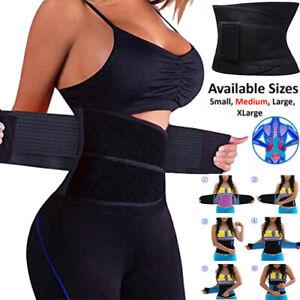 Women Waist Trainer Body Shaper Sweat Belt Tummy Slimming Control Girdle Girdle