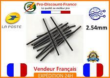 Barrettes connexion 40 Pin Mâle Noir 2.54 mm Arduino Raspberry electronique