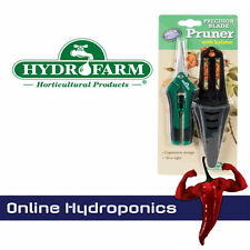 10 x Hydrofarm Precision Trimming Pruners with Holster Hydroponics