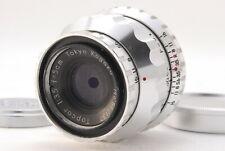 """Near MINT"" Tokyo Kogaku Topcor 50mm f/2 1:2 Lens For Leotax L39 Canon Japan"