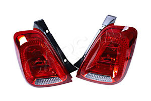 Rear Light Right + Left Set For FIAT ABARTH 500 595 2007- MAGNETI MARELLI OEM