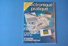 ELECTRONIQUE PRATIQUE N° 62 JUILLET/AOUT 1983