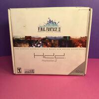 Final Fantasy XI Online PlayStation 2 Bundle (Factory Sealed Game & Hard Drive)