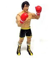 Rocky Sly Stallone Boxeo Movie 6 Pulgadas Figura De Acción Jakks Raro Lucha Libre