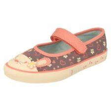 Chaussures gris larges pour fille de 2 à 16 ans