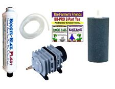 Boogie Brew Deluxe Kit / 16LB Boogie TEA, FILTER, 45L Air Pump & Stone BAY HYDRO