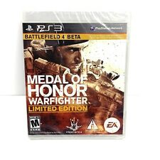Medal of Honor Warfighter *LIMITED EDITION* (PS3) New Sealed!