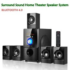 HI-FI ACTIVE 5.1 Channel Surround Sound Bluetooth Home Theater Speaker System