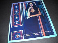 SELENA GOMEZ I've Become A Tabloid Story... 2015 PROMO POSTER AD mint condition