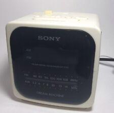 Sony Dream Machine Alarm Clock Model Icf-C122 with Am/Fm Radio