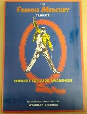 The Freddie Mercury Tribute Concert For Aids Awareness ~ Original Program Queen