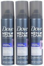 3 Dove Men Care 7oz Control Spray Full Look Strong Hold Natural Finish Unscented