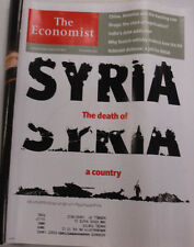 The Economist Magazine Syria The Death China & India February/March 2013 010915R