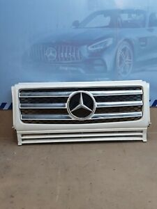 2009 2010 2011 2012 2013 2014 2015 2016 2017 MERCEDES BENZ G550 GRILLE OEM USED