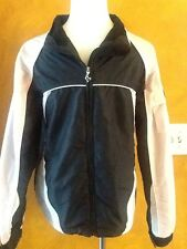 Justice Girl's Light Weight Jacket Pink & Black Size 14