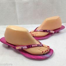 Somethin Else Sketchers Pink Thong Sandals Womens Size EU 39.5 US 9.5 M