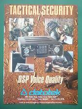 10/1988 PUB DATOTEK ENCRYPTION SYSTEMS CRYPTAGE TRANSMISSIONS RADIO TACTIQUE AD