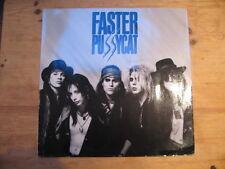 Más rápido Pussycat 1987 Elektra Free UK Post