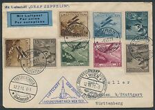 SIEGER #116 LZ127 ZEPPELIN LIECHTENSTEIN FLIGHT COVER BR2451