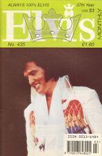 ELVIS MONTHLY No. 435 - 1996 (UK FANCLUB MAGAZINE ELVIS PRESLEY)