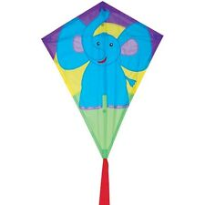 "Kite Elephant Diamond Shape 25"" Single Line With String Kite PR 15205"