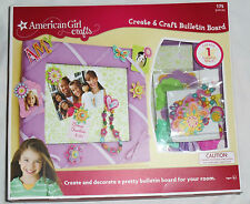 American Girl Crafts Create & Craft Bulletin Board 175 pieces opened but New