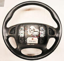 95-98 Firebird Trans Am Steering Wheel for Radio Controls LEATHER USED 02026