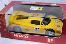 Ninco 50124 Ferrari f-50 Jaune Nouveau neuf dans sa boîte Tout doit disparaître