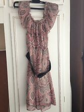 Jane Norman Women's Sleeveless Floral Dress Size 10