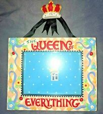 Mary Engelbreit ~ Resin Wall or Table Picture Frame ~ Queen Of Everything