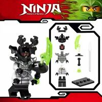 Ninjago Giant Stone Warrior Ninja Master Spinjitzu Toy Custom Lego Mini Figure