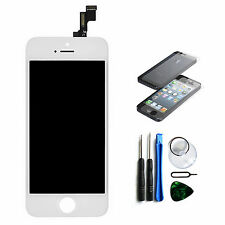 iPhone 5S Display Reparaturset Ersatz LCD Display Touchscreen Bildschirm Weiß