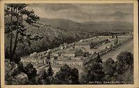 Kastell-Saalburg Taunus AK 1925 tolle Gesamtansicht alte Postkarte Hessen