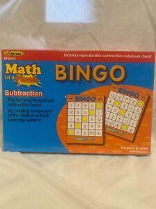 Edupress Math in a Flash Bingo
