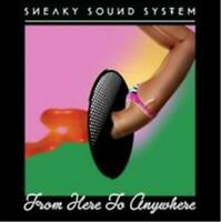 SNEAKY SOUND SYSTEM From Here To Anywhere CD NEW (STORE DISPLAY COPY)