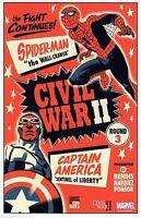 CIVIL WAR II #3 MICHAEL CHO LITHO Lithograph VARIANT COVER