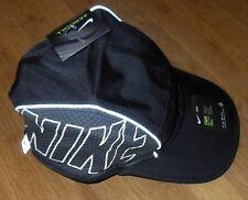 88678ca0d5f Nike Run Swoosh Womens Curved Black Peak Cap One Size Adjustable