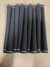5 X Jumbo Velvet Golf Grips Black  New
