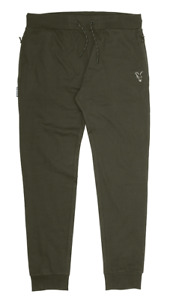 Fox Collection Green Silver Lightweight Joggers Jogginghose sehr leicht ansehen