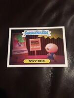 2019 Topps NYCC Adam Bomb Garbage Pail Kids Promo Card