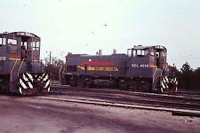 35mm Orig Slide SCL #4016 & #4018 EMD MP15AC Train Make Up Locos Hamlet NC L@@K