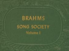 "ALEXANDER KIPNIS -BASS- & MOORE ""Brahms Song Society"" Vol. 1;  Fragment   A250"