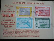 Postal History - Europa 1961 - Commodore Shipping Cinderellas