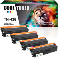 4 Pack Toner for Brother TN436 TN-436 HL-L8360CDW MFC-L8900CDW MFC-L9570CDW