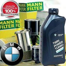 Kit tagliando BMW serie 3 Touring (E91) 320 d kw 135- 3 Filtri Mann e 6Lt 5w30 3